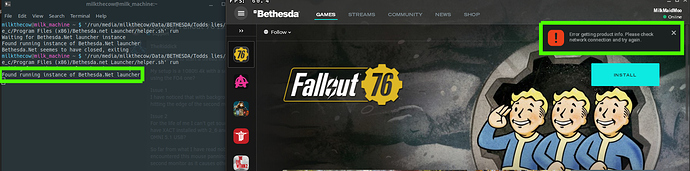 Solved] Fallout 76 Issue(s) Discussion - Support - Lutris Forums