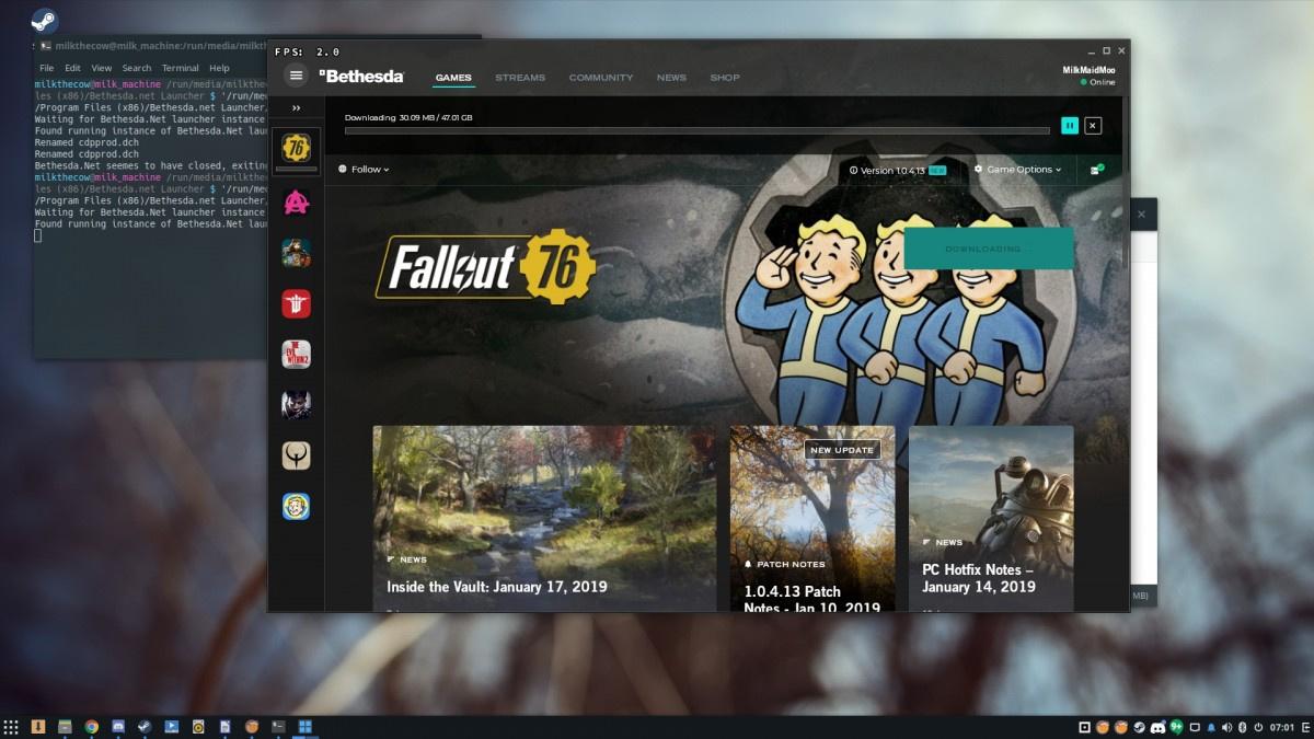 working fix ] [ Bethesda net launcher + Fallout 76 ] as of 1/24/19 7