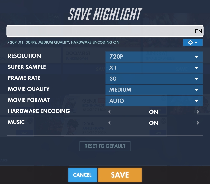 Solved] Overwatch - Can't export video highlights - Support - Lutris